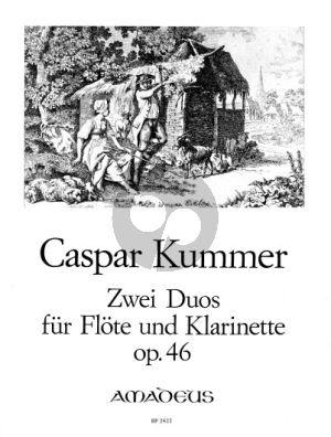 2 Konzertante Duo's Op.46 (Stimmen)