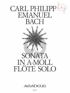 Sonate a-moll WQ 132