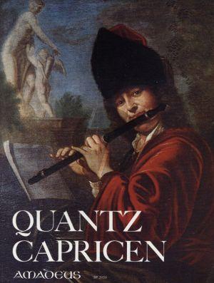 Quantz Capricen, Fantasien und Anfangstücke (mit Bc) (Michel-Teske)