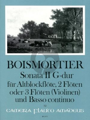 Boismortier Sonata G-major Op.34 No.2