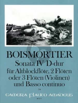 Boismortier Sonata D-major Op.34 No.4