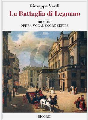 Verdi La Battaglia di Legnano Vocal Score (it.)