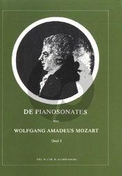 De Pianosonates van W.A. Mozart Vol.1