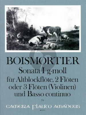 Boismortier Sonata g-minor Op.34 No.1