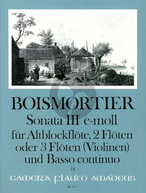 Boismortier Sonata e-minor Op.34 No.3