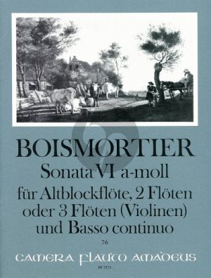 Boismortier Sonata a-minor Op.34 No.6