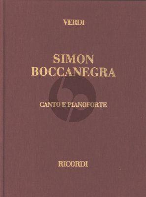 Verdi Simon Boccanegra Vocal Score (it.) (Hardcover)