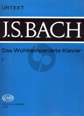 Bach Wohltemperierte Klavier Vol.1 Urtext (Without Fingering) (edited by István Lantos)