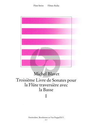 6 Sonates Op.3 Vol.1 (No.1 - 3) Flute-Bc (edited by Frans Vester)