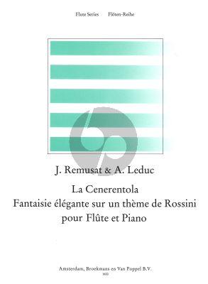 La Cenerentola (Fantasie Elegante sur un Theme de Rossini) Flute-Piano