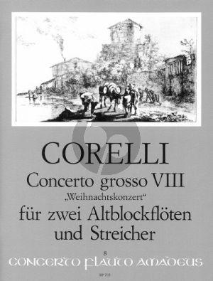 Weihnachts Konzert g-moll Op.6 No.8