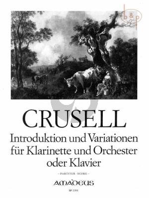Introduktion & Variationen Op.12 (Clar.-Orch.)