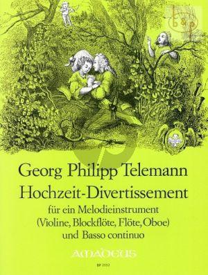 Hochzeits-Divertissement (Violin[Fl./Ob.]-Bc)