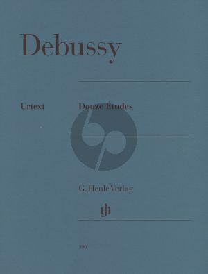 Debussy 12 Etuden Klavier