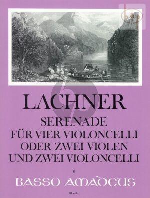 Serenade G-major Op.29 (4 Vc.) (or 2 Violas- 2 Violonc.)