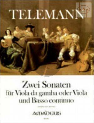 2 Sonaten (e-moll TWV 41:e5 & a-moll TWV 41:a6)