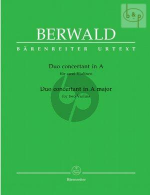 Duo Concertant A-dur