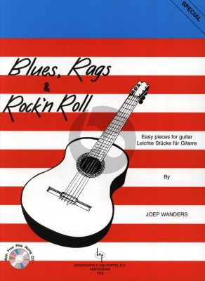 Wanders Blues Rags & Rock 'n' Roll for Guitar (Easy Pieces) (Grade 1 - 2) (Bk-Cd)