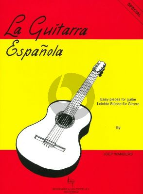 Wanders La Guitarra Espanola Guitar Solo (Easy Pieces - Grade 1 - 2)