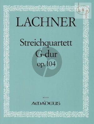 Quartet No.5 G-major Op.104 2 Vi.-Va.-Vc.