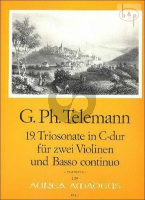 Triosonate C-dur TWV 42:C3