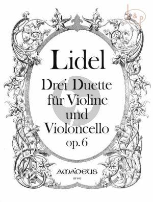 3 Duette Op.6 (Violin-Violoncello)