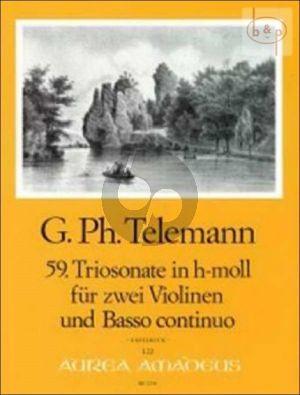 Triosonate h-moll TWV 42:h7
