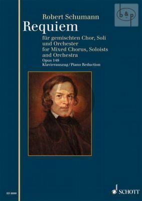 Requiem Op.148 Des-dur (Soli[SATB]-Choir[SATB]- Orch.) (Vocal Score) (lat.)