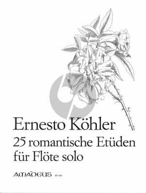 Kohler 25 Romantische Etuden im modernen Stil Op. 66 Flote (Kurt Meier)