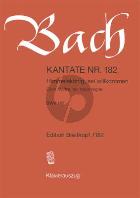 Bach Kantate No.182 BWV 182 - Himmelskonig, sei willkommen (Deutsch/Franzosisch) (KA)