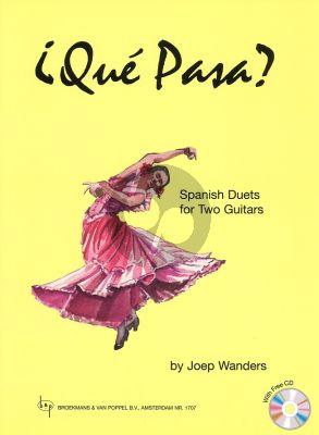 Wanders Que Pasa (Spanish Duets) (Bk-Cd) (Grade 3 - 4)