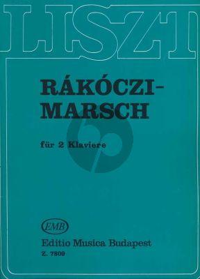 Liszt Rakoczi March 2 Piano's