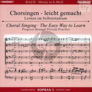 Messe h-moll (Hohe Messe) BVW 232 Sopran 1 Chorstimme