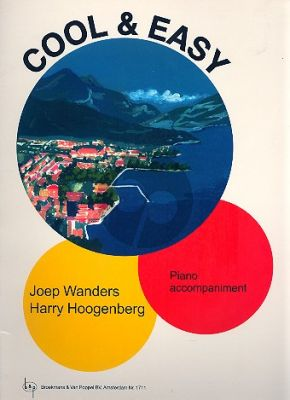 Wanders-Hoogenberg Cool & Easy (13 Duets - Pianoaccompaniment with Guitar Chord Symbols)