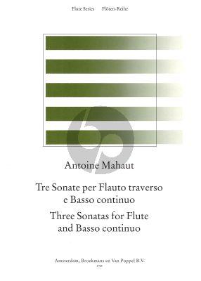 3 Sonatas Flute-Bc
