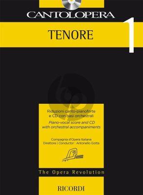 Cantolopera Arias for Tenor Vol.1