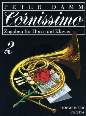 Cornissimo Vol.2 Horn-Klavier (Zugaben für Horn) (Peter Damm)