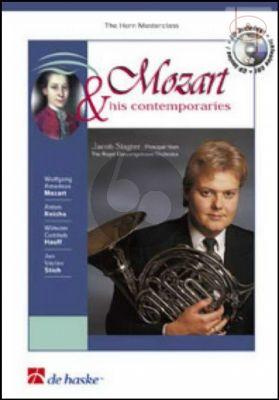 Mozart and his Contemparies (Horn[Eb/F]) (Bk-Cd)