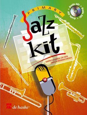 Tripp Primary Jazz Kit (Improviseren op een akkoordenschema) Alto Sax. (Bk-Cd)