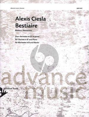 Ciesla Bestiaire Clarinet-Piano