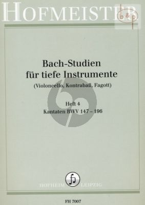 Studien Vol.4 Kantaten BWV 147 - 196
