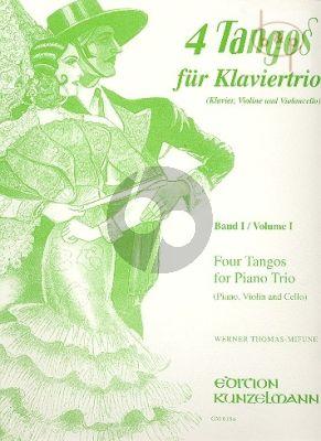 Tangos fur Klaviertrio Vol.1