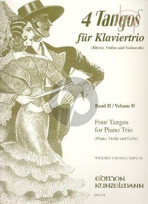 Tangos fur Klaviertrio Vol.2