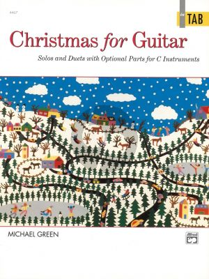 Christmas for Guitar (in TAB) (Solos and Duets with Optional Parts for C Instruments)