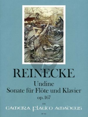 Reinecke Sonate Undine Op.167 Flöte und Klavier (Elisabeth Weinzierl und Edmund Waechter)