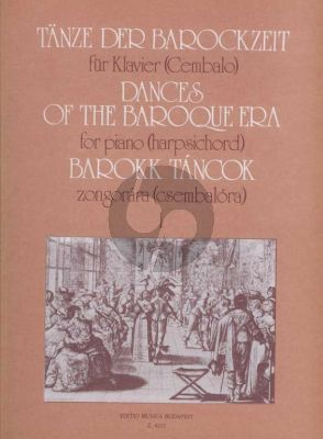 Dances of the Baroque Era Vol.1 Harpsichord (Olivér Nagy)
