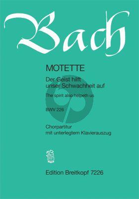 Der Geist hilft unser Schwachheit auf BWV 226
