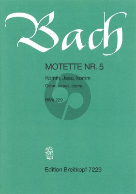 Komm Jesu Komm (BWV 229)