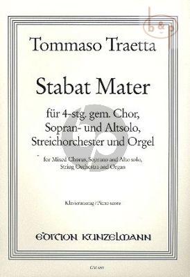 Stabat Mater Sopran- und Altsolo-SATB-Streicher und Orgel