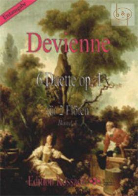 6 Duette Op.1 Vol.1 (No.1 - 3) 2 Flutes